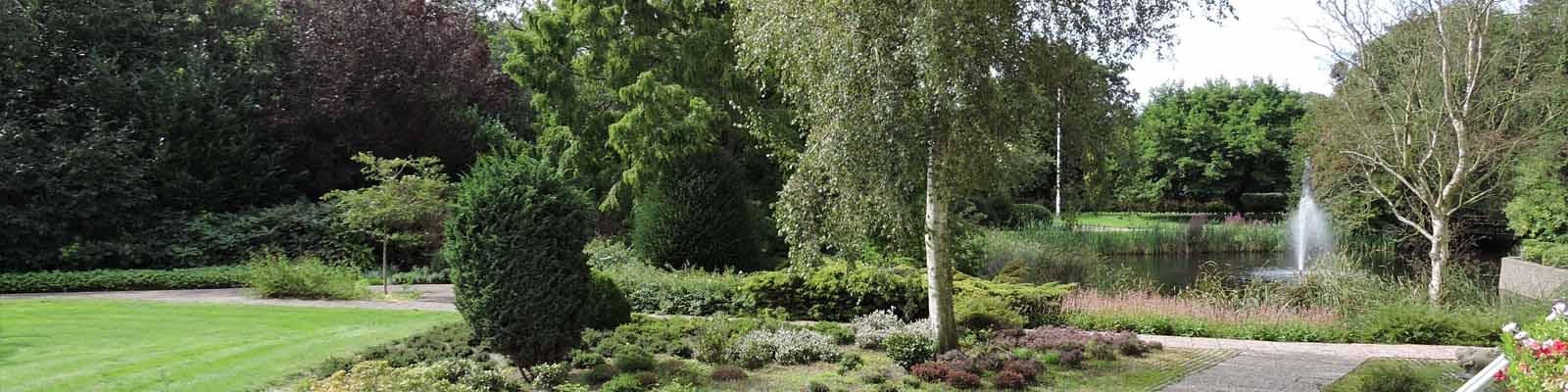 Genieten in de frankenstate tuin